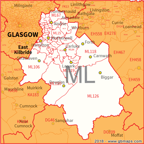 Motherwell Postcode Area, District and Sector maps in ... on map east lothian scotland, excelsior stadium, airdrie public library, lanark high church glasgow scotland, map of airdrie alberta, map of glasgow ky, airdrie-bathgate rail link, airdrie and shotts, airdrie public observatory, airdrie lanarkshire scotland,