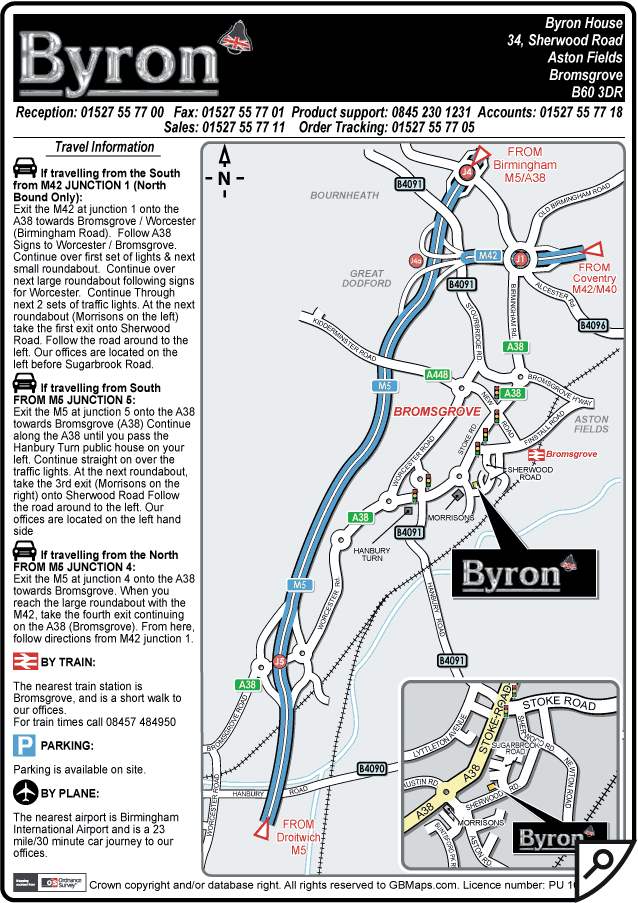 a4 pdf location map
