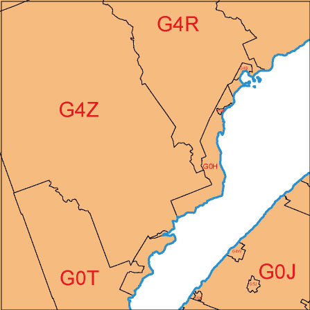Editable Canada 3 Digit Postal Code Maps As Vector Files Download