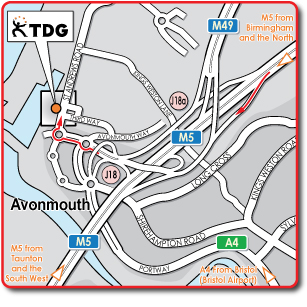 avonmouth web map