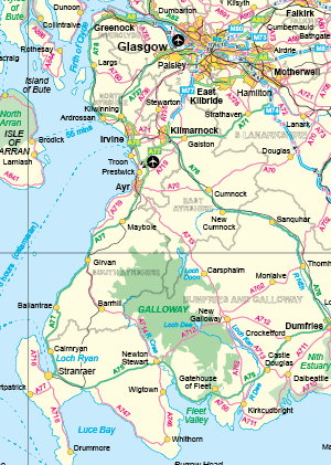 free uk motorways and roads map