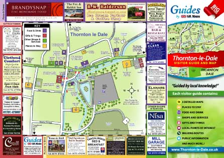 Visitor Maps Guides and Tourism Maps of Towns Villages and Cities