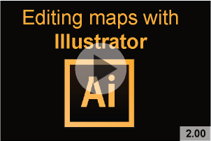 postcode district map files for graphic designers