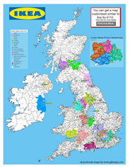 postcode districts uk