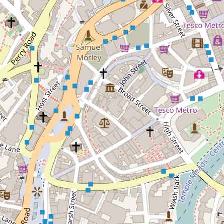 Map Creation Software for Postcode Maps and County Boundary Maps